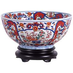 Imari Porcelain Bowl with Base
