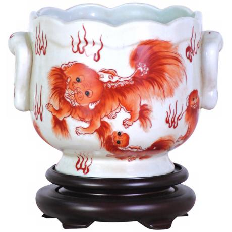 Chinese Dragon Porcelain Cachepot