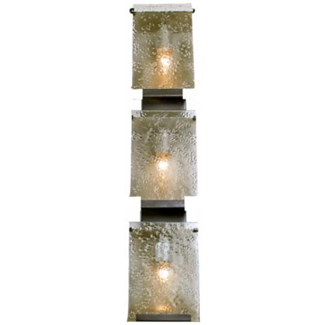 "Varaluz Rain Collection 33 1/4"" High Bath Light Fixture"