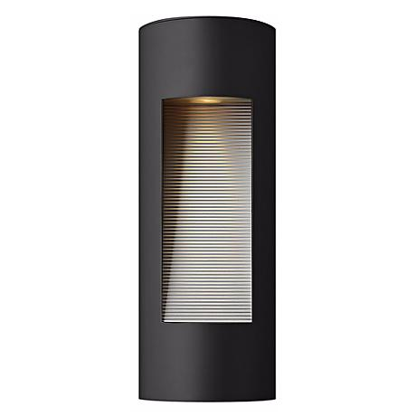"Hinkley Luna Dark Sky 16"" High Black Outdoor Wall Light"
