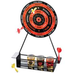 Shot Glass Darts Bar Game Set