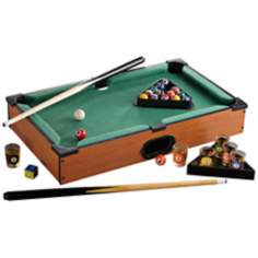 Pool Table Shot Glasses Set