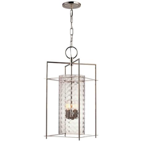 "Hudson Valley Esopus 12"" Wide Nickel Pendant Light"