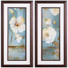"Uttermost Set of 2 Late Summer 45 1/4"" High Wall Art"