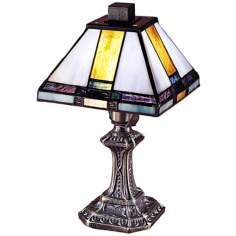 Tranquility Mission Style Dale Tiffany Accent Lamp