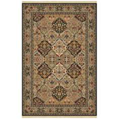 Empress Kirman Black Original Karastan Area Rug