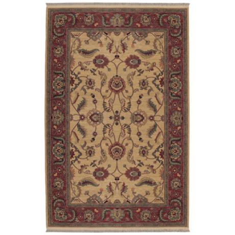 Ashara Collection Agra Ivory Karastan Area Rug