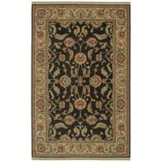 Ashara Collection Agra Black Karastan Area Rug