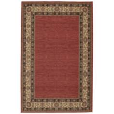 Ashara Collection Agra Border Karastan Area Rug