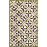 Outdoor Collection Florin Green Area Rug
