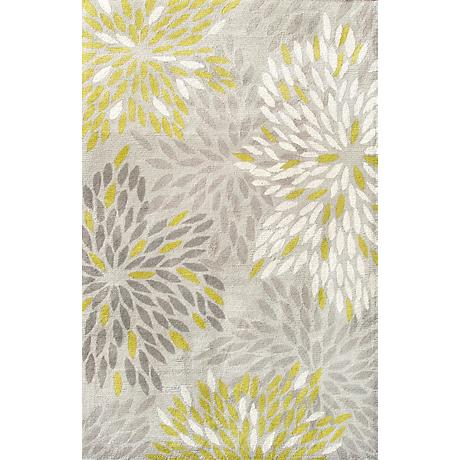 Camden Collection Astra Lime Area Rug