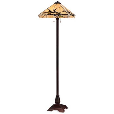 Robert Louis Tiffany Budding Branch Floor Lamp