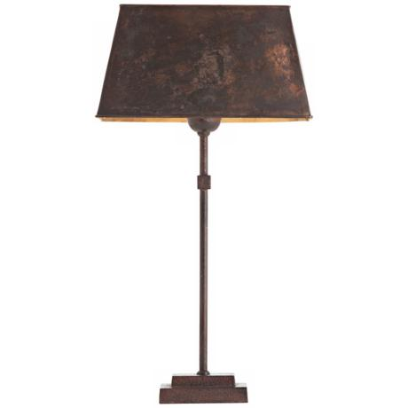 Arteriors Home Stewart Rust Iron Table Lamp