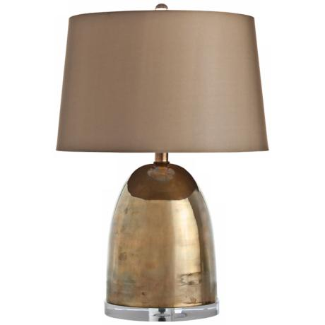 Arteriors Home Ryder Small Vintage Brass Table Lamp