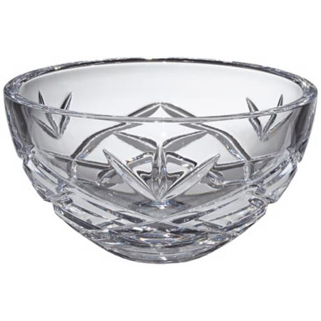 "Kathy Ireland Royal Wailea 6"" Etched Crystal Bowl"