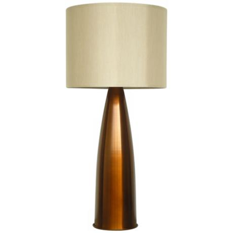Babette Holland Val Bronze Fade Modern Table Lamp