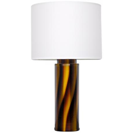 Babette Holland Tiger Bronze Modern Table Lamp