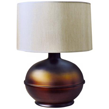 Babette Holland Bronze Burst Round Table Lamp