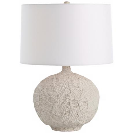 Arteriors Home Tully Patchwork Knit Porcelain Table Lamp