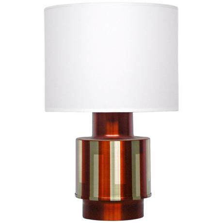 Babette Holland Michelle Autumn Shadow Modern Table Lamp