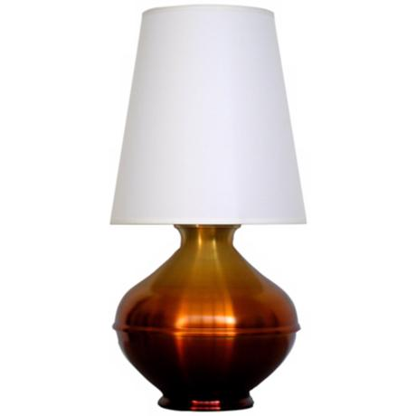 Babette Holland Palermo Rust Fade Modern Table Lamp