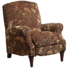 Aidan 3-Way Damask Recliner