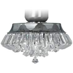 Deco Crystal Chrome Universal Light Kit