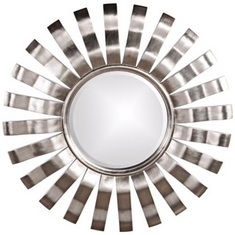 "Howard Elliott Edgarton 40"" Round Wall Mirror"