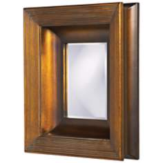 "Howard Elliott Collection 18"" High Hannover Wall Mirror"