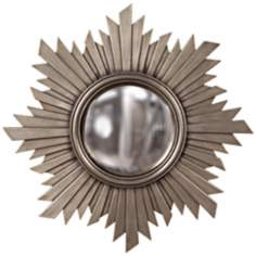 "Howard Elliott Euphoria 21"" Convex Sunburst Wall Mirror"