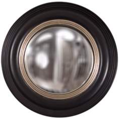 "Howard Elliott Soho 14"" Convex Decorative Round Wall Mirror"