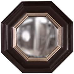 "Howard Elliott Triton 14"" Wide Convex Decorative Wall Mirror"