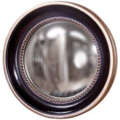 "Howard Elliott Patterson 16"" Convex Round Wall Mirror"