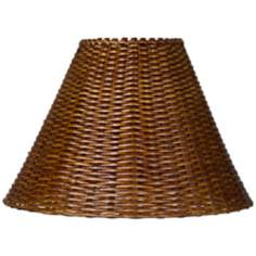 Springcrest™ Natural Rattan Lamp Shade 7x17x12 (Spider)