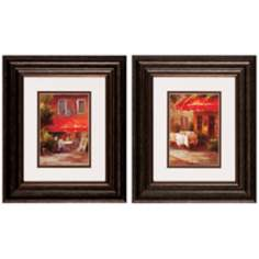 "Set of 2 Midi Provence 14"" High French Wall Art Prints"
