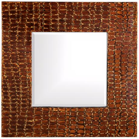 "Howard Elliott Collection 35"" Square Scorpio Wall Mirror"