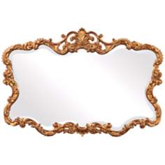 "Howard Elliott Collection 38"" Wide Talida Wall Mirror"