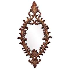"Howard Elliott Amadeus 41"" High Wall Mirror"