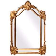 "Howard Elliott Cortland 47"" High Gold Decorative Wall Mirror"