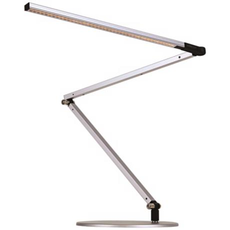 Koncept Gen 3 Z-Bar Warm Light LED Modern Desk Lamp Silver