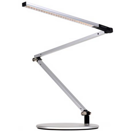 Koncept Gen 3 Z-Bar Mini Daylight LED Desk Lamp Silver