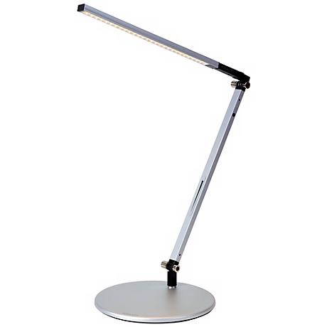 Koncept Gen 3 Z-Bar Solo Warm Light LED Silver Desk Lamp