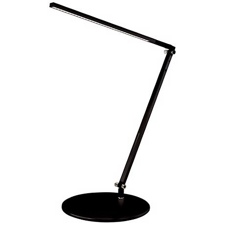 Koncept Gen 3 Z-Bar Solo Mini Warm Light LED Black Desk Lamp