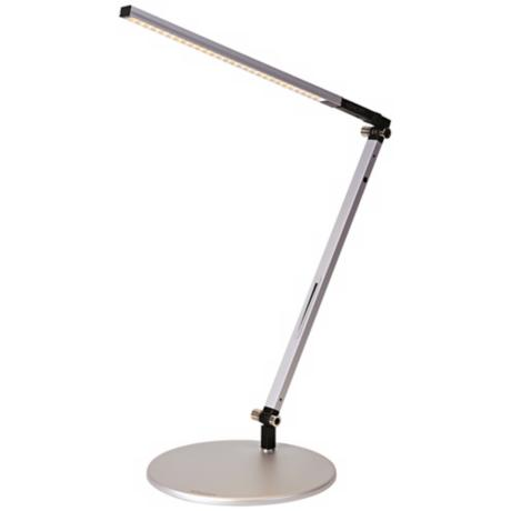 Koncept Gen 3 Z Bar Solo Mini Warm Lite LED Silver Desk Lamp