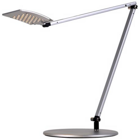 Koncept Gen 3 Mosso Warm Light LED Desk Lamp Silver