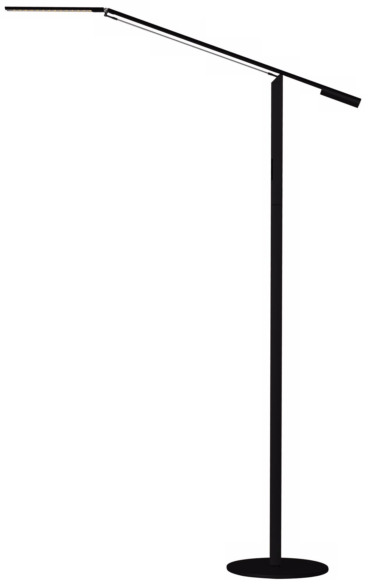 Koncept Gen 3 Equo Daylight LED Floor Lamp Black (V6959)