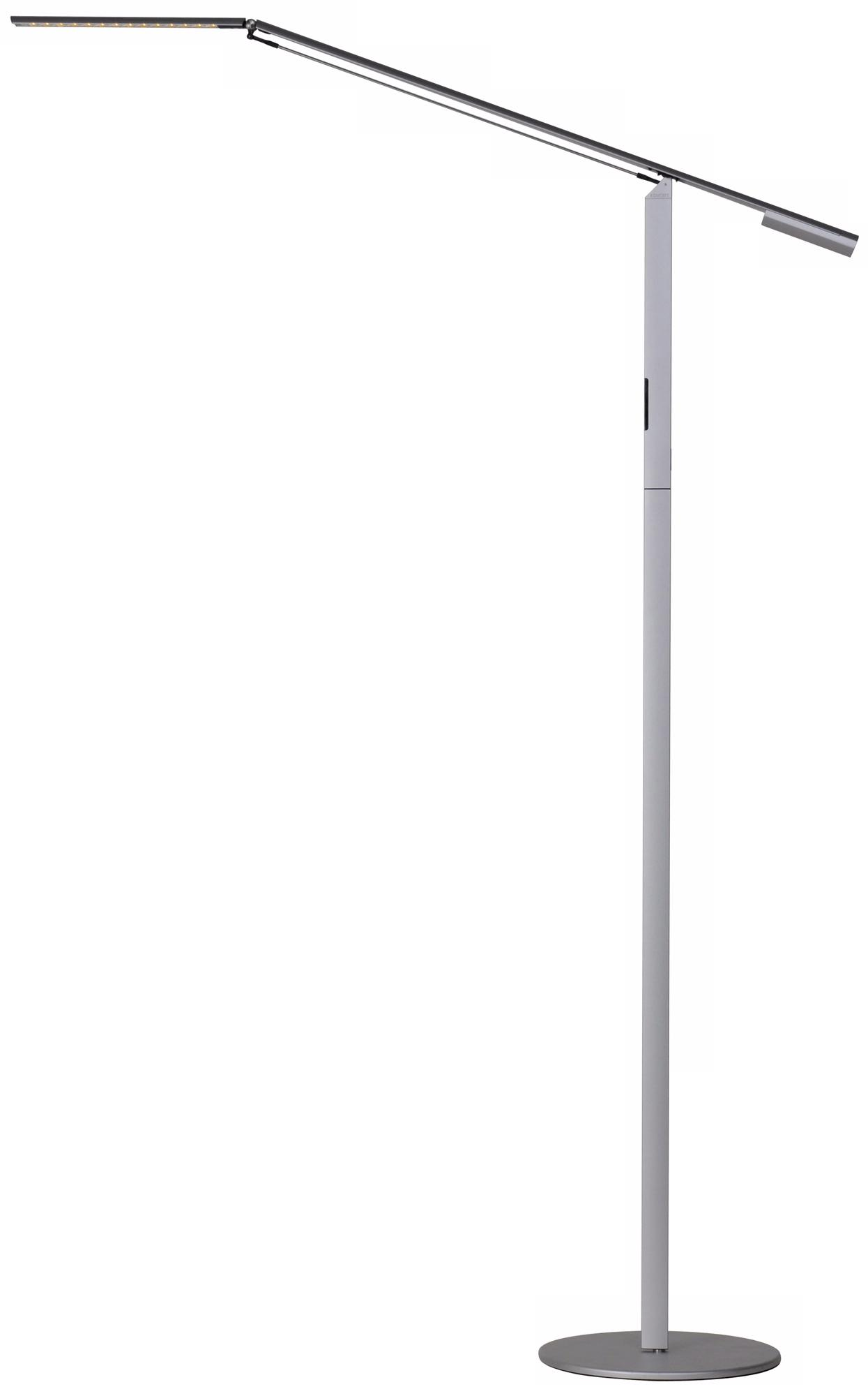 Koncept Gen 3 Equo Warm Light LED Floor Lamp Silver (V6961)
