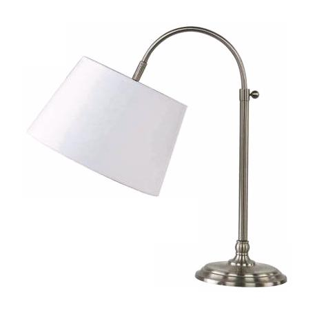 Edward Adjustable Brushed Nickel Table Lamp