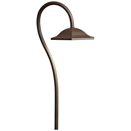 "Kichler Sheperd's Crook 271/2"" High LED Bronze Path Light"