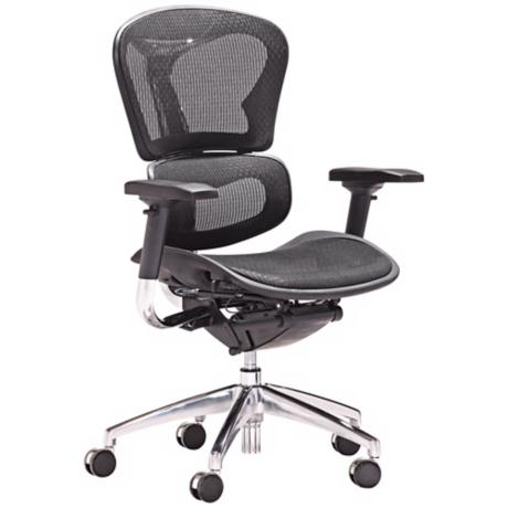 Zuo Harlow Collection Low Back Black Office Chair